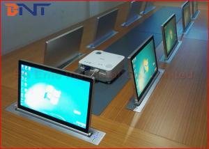 China Elevación de escritorio integrada eléctrica del monitor con la pantalla táctil de 15,6 pulgadas on sale