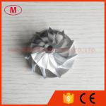 RHF5 36.60/52.50mm 11+0 blades turbo turbocharger aluminum 2618/Billet/milling compressor wheel for VJ26