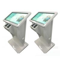 43 Inch Pc Windows 7 10 Or Android Os Network Wifi Floor Standing Touch Screen Kiosk Terminal With Card Reader