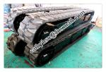 8 ton rubber track undercarriage rubber crawler undercarriage