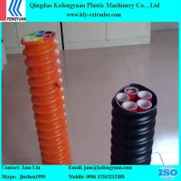 COD(Corrugated Optic Duct) pipe making machine extruder manufacture