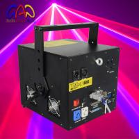 Animation Outdoor RGB Laser Light Diode Lighting Christmas Decoration 1800mw Stage Effect
