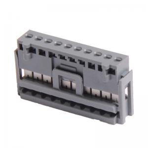 China 2.50 IDC Socket Wire To Board Connector 8P PBT Grey , Matte Sn on sale