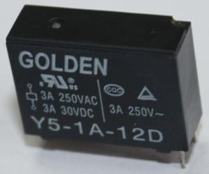 China 3A - 5A PCB Mount Relay Power System Relaying SPST/SPDT -305~70C on sale
