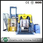 Nenhuma máquina de revestimento de alumínio da máquina de revestimento do floco do zinco da efusão com única cesta