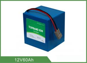 China 10.5KG Ups Power Battery , Ups Rechargeable Battery 12V 60Ah Small Size on sale