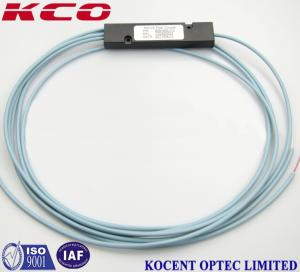 China 1x2 Multimode OM3 Fiber Optic Cable Splitter , customized ABS Box PLC Splitter on sale