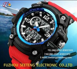 China Silicone watch movement watch quartz Wrist Watch suitable for climbing skiing and outdoor sorts for men on sale