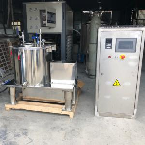 China 30 L Centrifuge Separation Liquid Leaf Essential Oil Extraction Cold Extractor Machine for Rotovap Distillation on sale