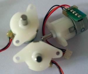 China Plastic Precision Stepper Motor , Waterproof 12 Volt DC Stepper Motor on sale