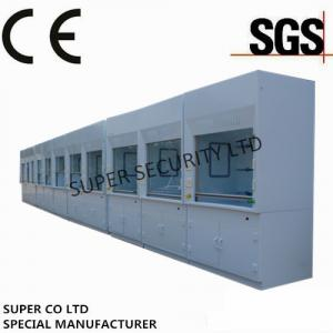 China Poly Ducted Laboratory Chemical Fume Hood / Cupboard with PP Cup Sink for testing, lab use on sale
