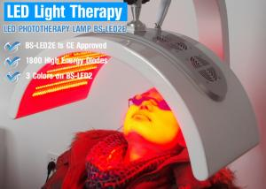 China Three Color Infrared Led Light Therapy Skin Care Device on sale