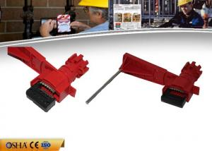 China 327g ABS Valve Lock Out For Household / Commercial / Industrial Single Arm on sale