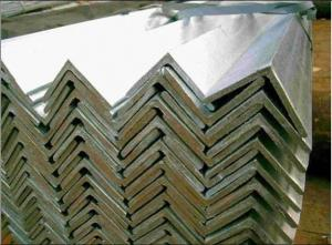 China Galvanized Angle Iron on sale