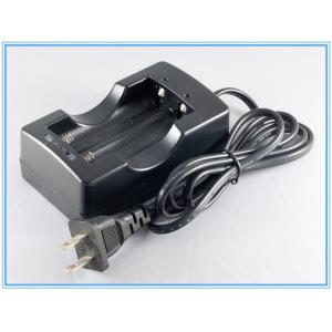 China 2PCS ICR 18650 3.7v li-ion Lithium-ion battery charger with US Europe plug on sale