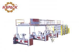 China Automatic Corrugation Machine , Corrugated Cardboard Production Line on sale