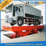 Durable Hydraulic Scissor Car Parking Lift , Vehicle Scissor Lift With CE