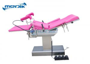 China Electric Gynaecological Obstetric Bed Gynecology Chair With Foot Switch on sale