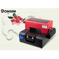 China USB 2.0 LED A4 UV Flatbed Printer 6 Colors Leather Directly With Embossed Effect on sale