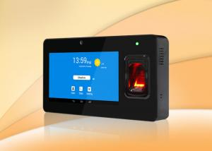 China 7inch touch display Android time attendance system, support send SMS to mobile on sale