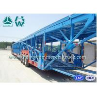 Hydraulic 12 Units Vehicle Transport Car Carrying Truck 60 Tons Sinotruk