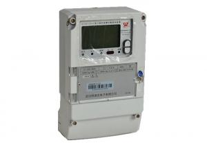 China Ladder Billing Three Phase Fee Control Smart Electric Meter With Carrier Communication on sale