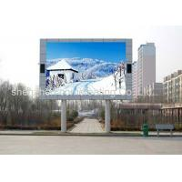 China Commercial video wall advertising Big p6 outdoor led display Electronic on sale