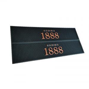 China Factory Manufacturing customilzed bar mat felt promotional bar mat with logos on sale