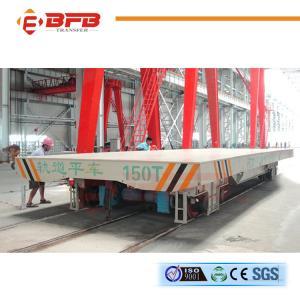 China Carro plano portador grande del carril de carro del remolque de la máquina on sale