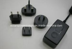 China Tomada variável 6V 3A da montagem da parede do adaptador 18W do poder da C.C. da C.A. para o mundo on sale