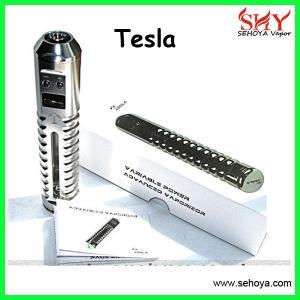 China Tesla vv mod adjustable wattage dry herb vaporizer tesla vv mod kit patent products on sale