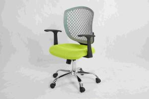 China High End Mesh Rolling Desk Chair With TPU Backrest / Strong Bearing Capacity on sale