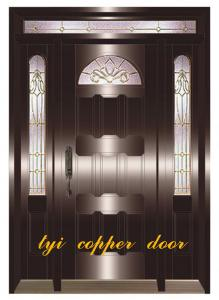 China copper security doors on sale