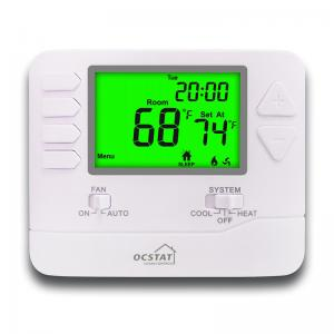 China Air Conditioning Room Seven Day Programmable Thermostat For Low Voltage 24V Power Supply on sale