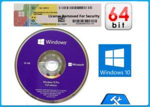 Quality Win 10 Pro Online Activation Original key / Win10 pro 64bit OEM license FPP key for sale