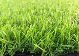China PE + PP Artificial Grass Synthetic Lawn Turf / 45 Mm Height Fake Football Grass on sale