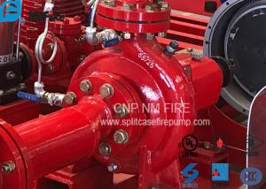 UL FM Approved End Suction Fire Pump 500usgpm @288 Feet For