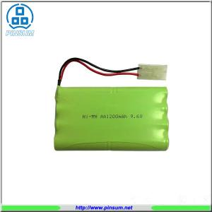 China Ni-MH AA1200X8 9.6V Rechargeable battery on sale