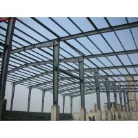 China Steel Frame Commercial Buildings Fabricated By Q345B With Painting on sale