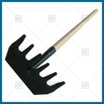 LH105W01 Mcleod rake with ash wood handle, wildfire tool, grass fire tool, forest fire tool, trail tool