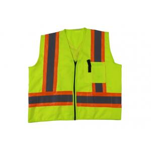 China Reflective High Visibility Vest With Pockets, Hi Vis Traffic VestWith En20471 on sale