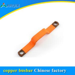 China Laminated copper busbar for ELECTRI CARS, Copper Flexible Connectors For Vehical Battery on sale