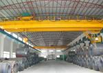 Grue industrielle d'EOT de double de poutre chariot aérien à grue avec le crochet