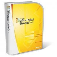 English Microsoft Project License Standard 2007 Upgrade 1 PC Digital Download