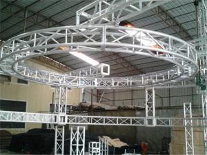 China Rotating Circular Truss Aluminum Trussing Hang Roof - Domes / Balls 8 parts on sale