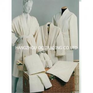China Terry cloth bathrobe on sale