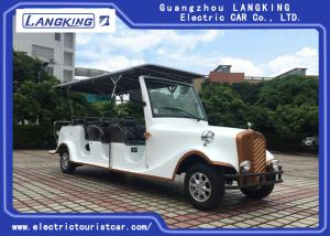 China Multi Passenger Vintage Electric Car , Classic Golf Carts 5050×1490×2015mm on sale