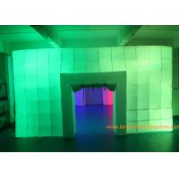 8.5*6*3M Inflatable Air Tent , Inflatable Colorful Tent With LED Lights for outdoor event