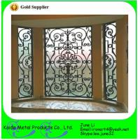 wrought iron metal bar iron windows grills design