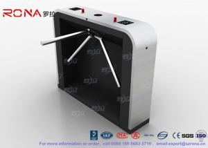 China Reliable Easy Tripod Turnstile Gate Solution 35 Persons per Min Passing Speed on sale